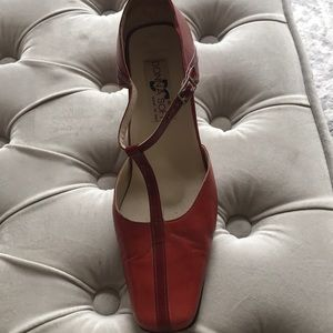 Italian Red Leather